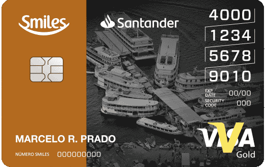 Cartão de Crédito Smiles Santander Gold