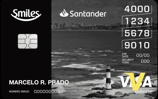 Cartão de Crédito Smiles Santander Infinite
