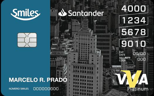 Cartão de Crédito Smiles Santander Platinum