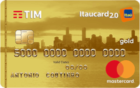 Cartão de Crédito TIM Itaucard 2.0 Gold MasterCard