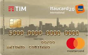 Cartão de Crédito TIM Itaucard 2.0 Internacional MasterCard