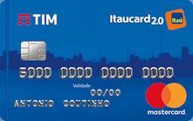 Cartão de Crédito TIM Itaucard 2.0 Nacional MasterCard