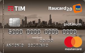 Cartão de Crédito TIM Itaucard 2.0 Platinum MasterCard