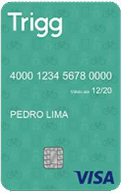 Cartão de Crédito Trigg Visa verde