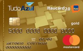 Cartão de Crédito TudoAzul Itaucard 2.0 Gold MasterCard