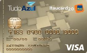 Cartão de Crédito TudoAzul Itaucard 2.0 Internacional Visa