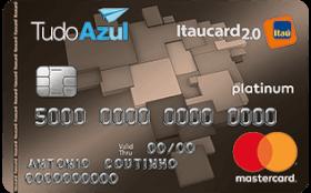 Cartão de Crédito TudoAzul Itaucard 2.0 Platinum MasterCard