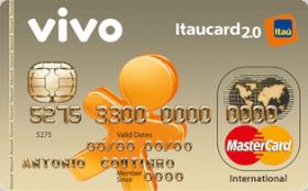 Cartão de Crédito VIVO Itaucard 2.0 Internacional MC Pré