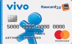 Cartão de Crédito VIVO Itaucard 2.0 Nacional MasterCard Pós