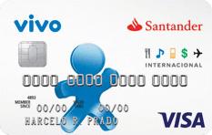 Cartão de Crédito Vivo Santander Visa Internacional