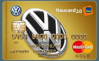 Cartão de Crédito Volkswagen Itaucard 2.0 Gold MasterCard