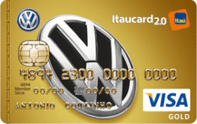 Cartão de Crédito Volkswagen Itaucard 2.0 Gold Visa