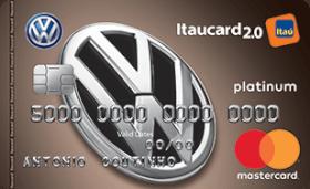 Cartão de Crédito Volkswagen Itaucard 2.0 Platinum MasterCard