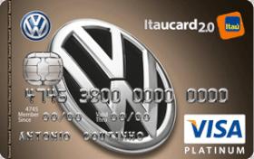 Cartão de Crédito Volkswagen Itaucard 2.0 Platinum Visa