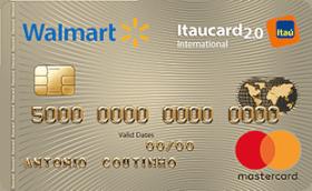 Cartão de Crédito Walmart Itaucard 2.0 Internacional MasterCard