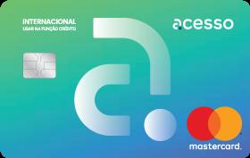 Cartão Pré-Pago AcessoCard Chip MasterCard® Internacional
