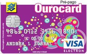 Cartão Pré-Pago Ourocard Mesada