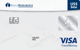 Cartão Pré-Pago Viagem Rendimento Visa TravelMoney