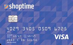 Cartão Shoptime Visa