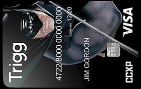 Cartão Trigg Visa Batman