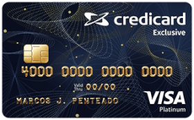 Credicard Exclusive Platinum Visa