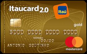 Cartão de Crédito Itaucard 2.0 Gold Sempre Presente MasterCard