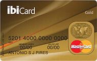 Cartão de Crédito ibiCard MasterCard Gold