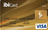 Cartão de Crédito ibiCard Visa Gold