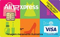 Cartão Pré-Pago Visa Internacional AliExpress