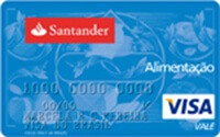 Cartão Santander Refeição Visa Vale