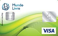 Cartão Pré-Pago Agillitas Mundo Livre Visa
