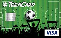 Cartão Pré-Pago Agillitas Teen Futebol Visa