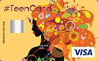 Cartão Pré-Pago Agillitas Teen Hippie Visa