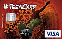Cartão Pré-Pago Agillitas Teen Skate Visa