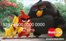 Cartão Pré-Pago AcessoCard Angry Birds Movie MasterCard® Internacional