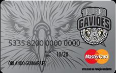 Cartão Pré-Pago AcessoCard Gaviões da Fiel MasterCard® Internacional