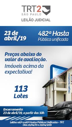 482ª Dia 23/04 - TRT