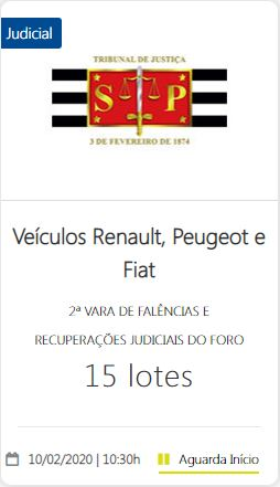 Veículos Renault, Peugeot e Fiat