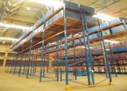 Prateleira porta paletes industrial