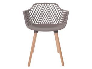 Kit 3 Cadeiras Vision Com Braço Fendi