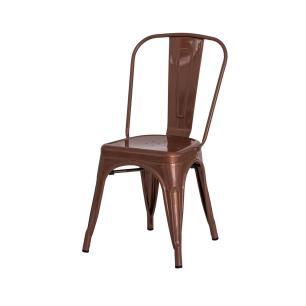 Cadeira Tolix Iron Design Cobre