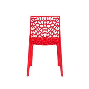 Kit 2 Cadeiras Gruvyer Vermelha