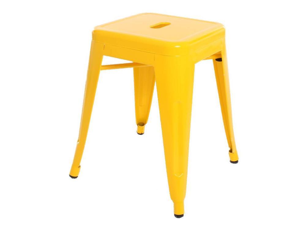 Banqueta Baixa Tolix Amarelo