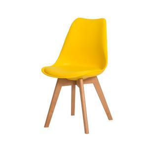 Kit 4 Cadeiras Leda Saarinen Design Amarela