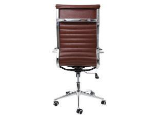Kit 2 Cadeiras De Escritório Presidente Charles Eames Eiffel Marrom