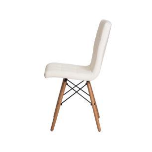 Kit 2 Cadeiras Charles Eames Gomos Branca