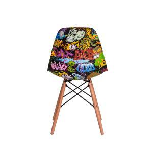 Cadeira Eiffel Eames Graffiti