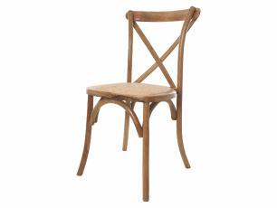 Cadeira Para Mesa De Jantar Evento Casamento Katrina Cross Paris Madeira Empilhável
