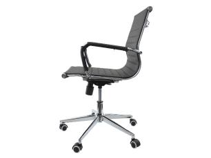 Cadeira De Escritório Diretor Charles Eames Eiffel Preta