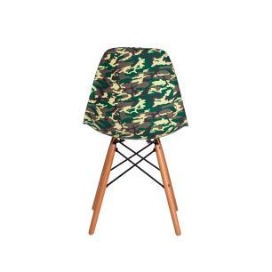 Cadeira Eiffel Eames DSW Camuflada